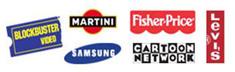 Font In A Shape Logo