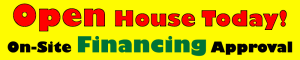 Open House Advertising Banner
