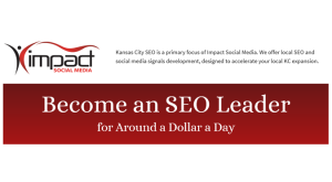 Kansas City SEO services by Impact Social Media