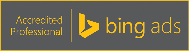 Bing Ads Accredited Professonial Status