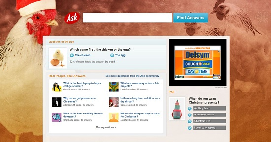 Ask.com Screen Shot