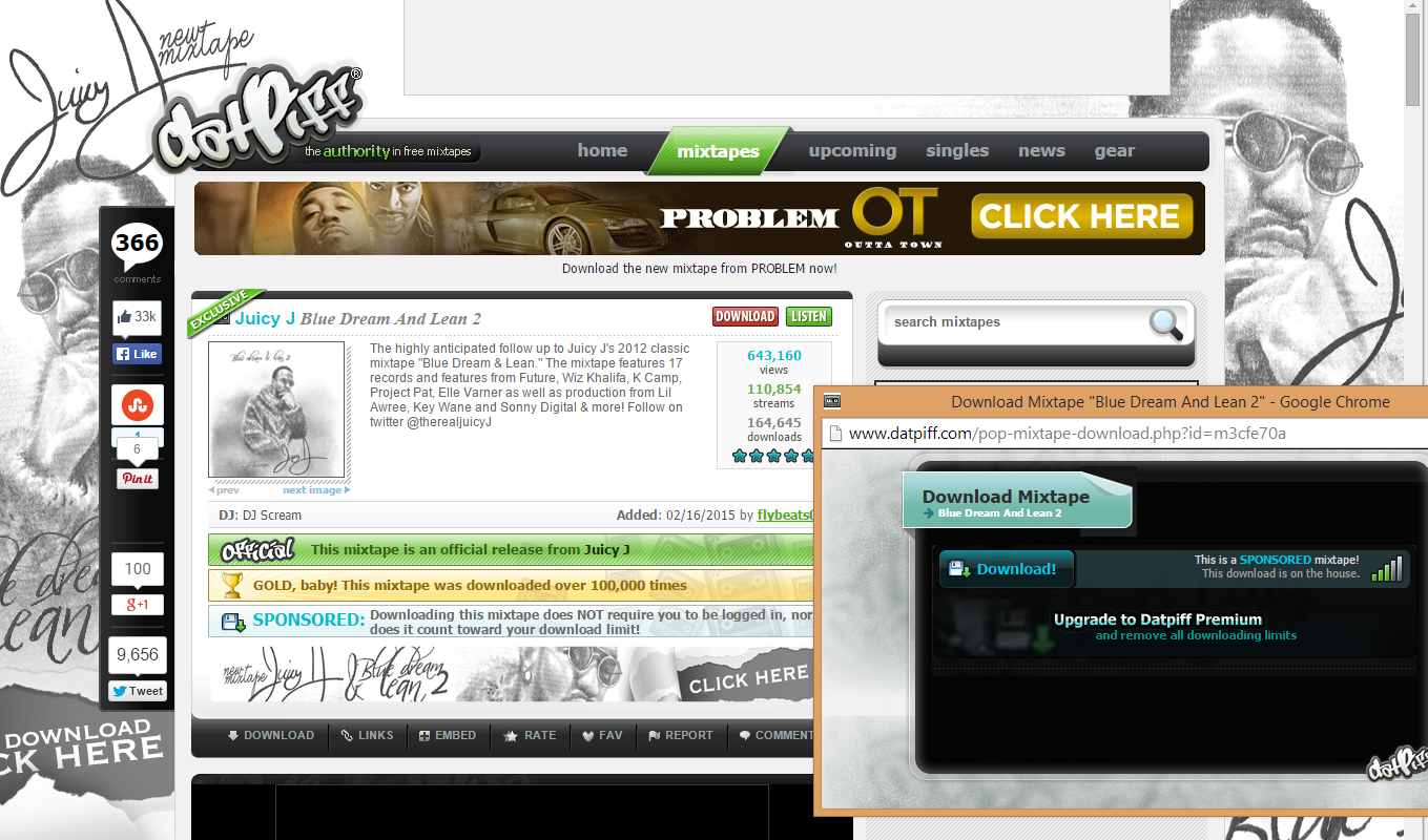 DatPiff The Authority in Free Mixtapes | Impact Social Media