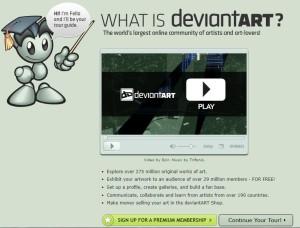 Deviantart Video Tour