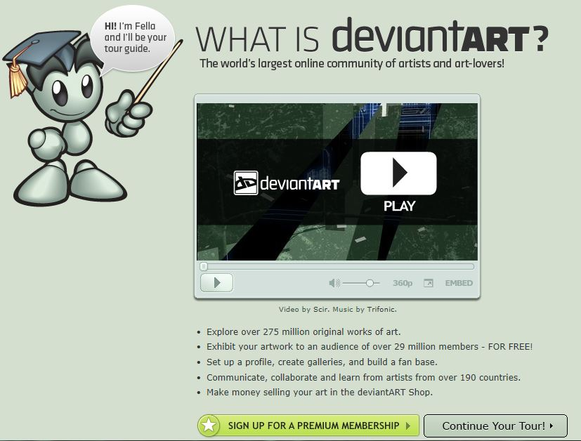 DeviantArt Review The Social Art Hub for Art Lovers | Impact Social