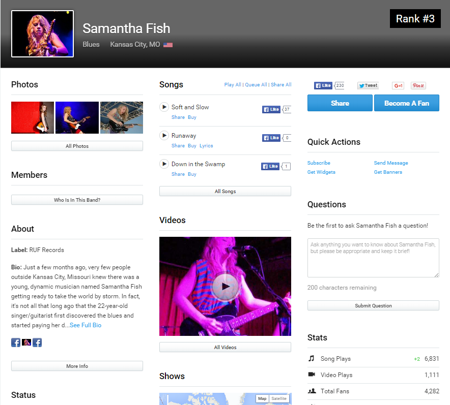 Discover Local Musicians On Reverbnation