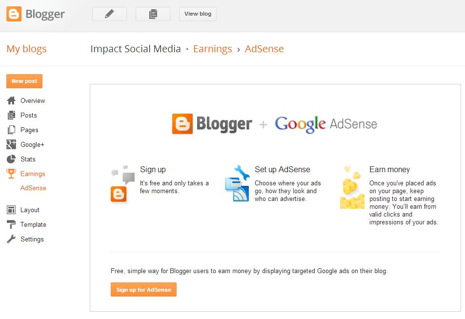 Earn Money With Blogger
