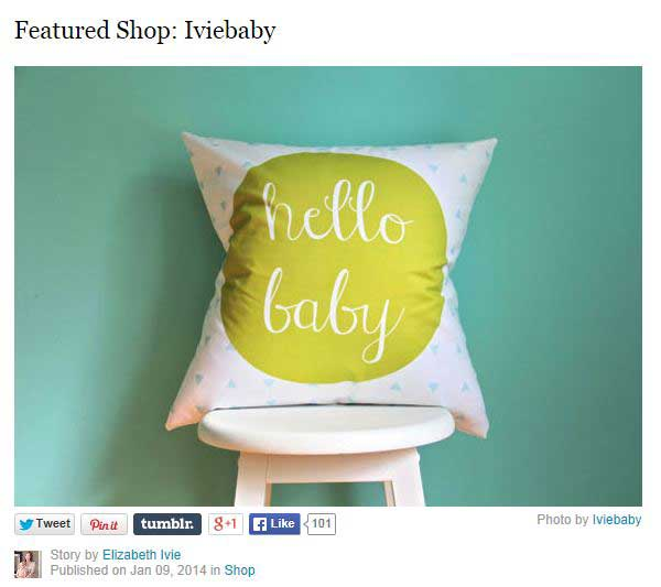 Etsy Featured Shop