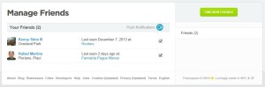 Find Your Friends With Foursquare