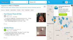 Finding Places With Foursquare