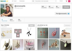 Following Collections On Wanelo