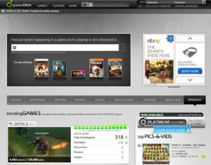 Gamer DNA Home Page