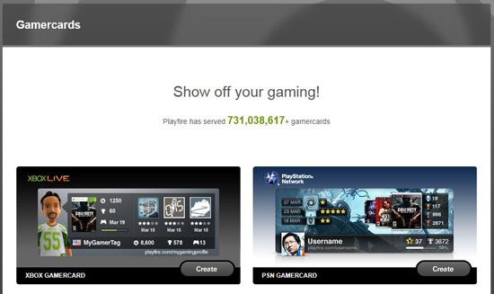 Playfire gamercard not updating