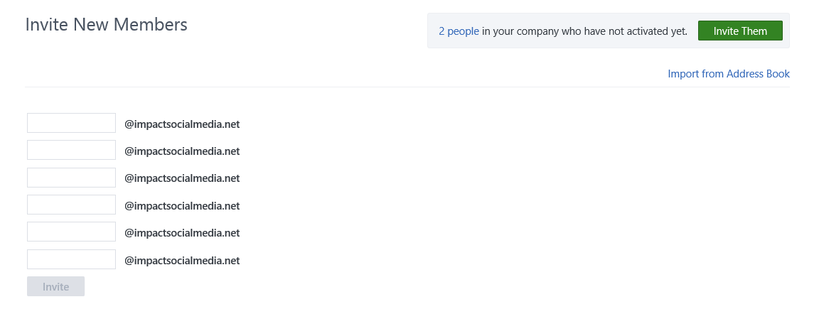 Invite Company Employees To Yammer