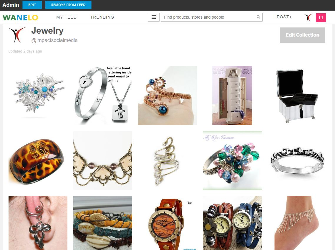 Jewelry Collection Saved Products At Wanelo