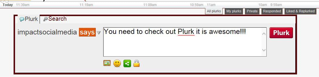 Plurk Mini Blogging
