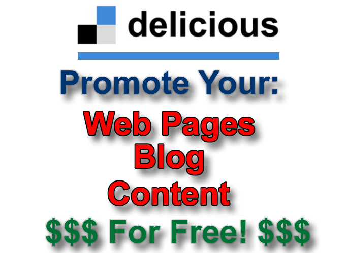 Promote Your Website With Delicious