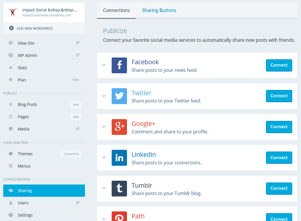 Social Media Sharing For Your WordPress Blog