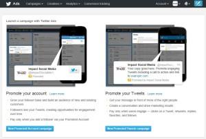 Twitter Advertising Opportunities