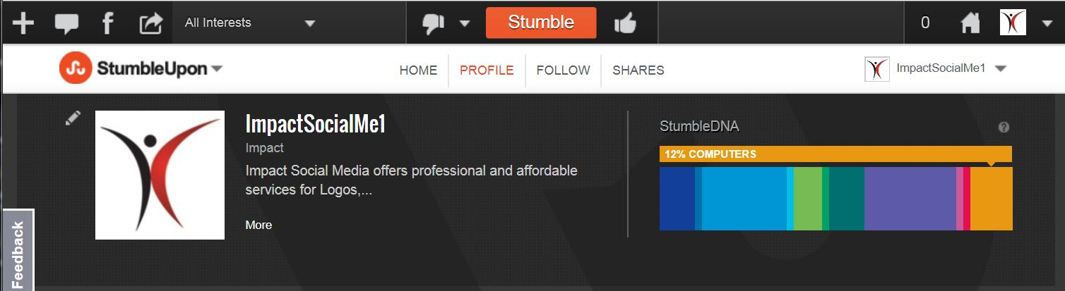 Vote On StumbleUpon Content With Thumbs Up Thumbs Down