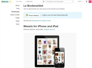 Wanelo Apps And Browser Plugin