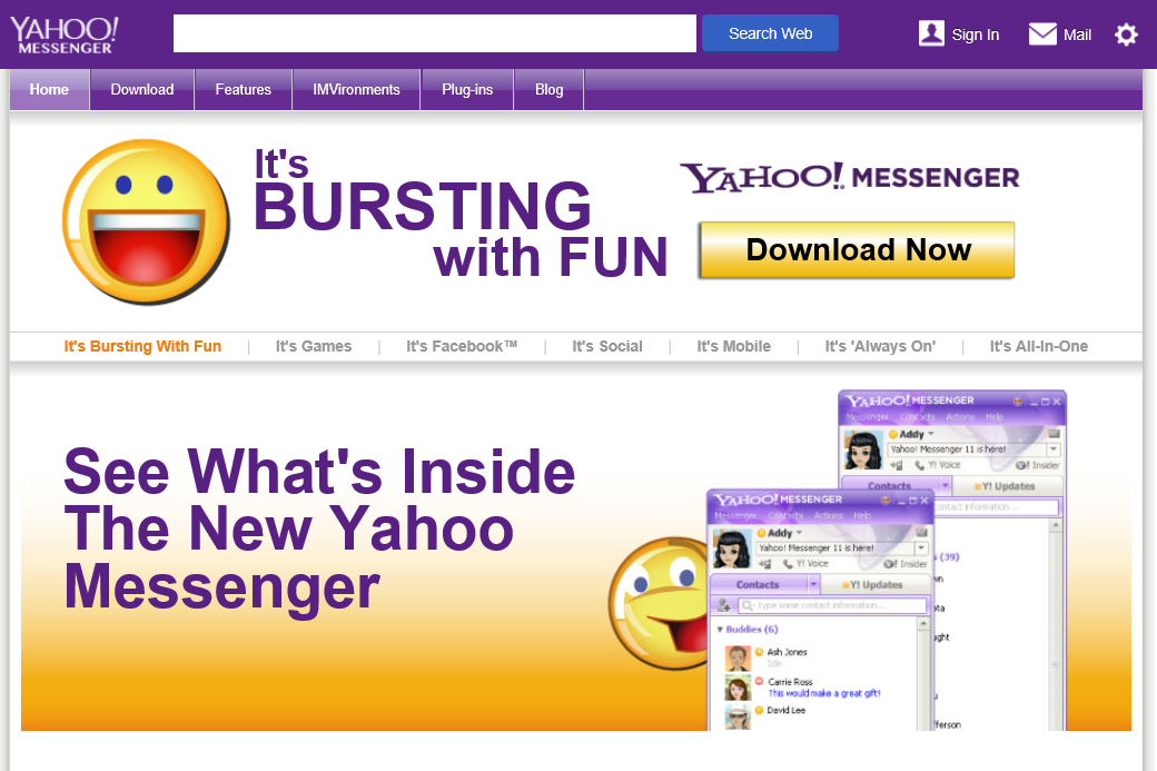 Yahoo Messager