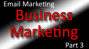 Business Marketing Classes Part 3