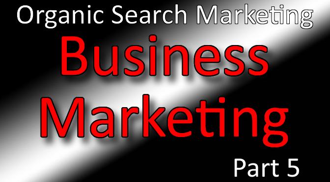 Business Marketing Classes Part 5